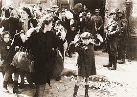 Le ghetto de Varsovie n'existe plus.