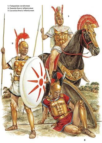 Guerriers Samnites