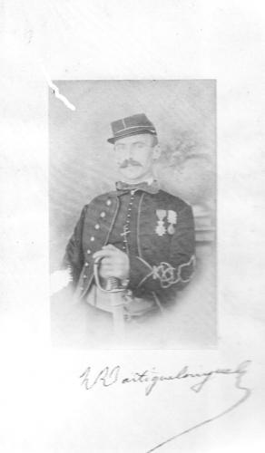 Portrait du Sous-lieutenant Dartiguelongue