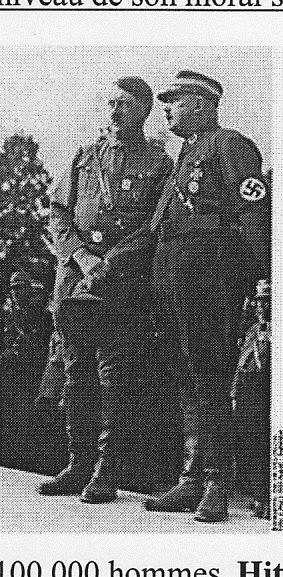 Hitler et Rohme