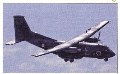 """Le Transall F18 """"Ville de Kolvezi"""" entre au musée de l'Air et de l'Espace"""